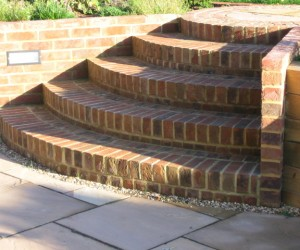 Brick Steps And Pathway