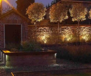 Garden Wall Up And Down Lights