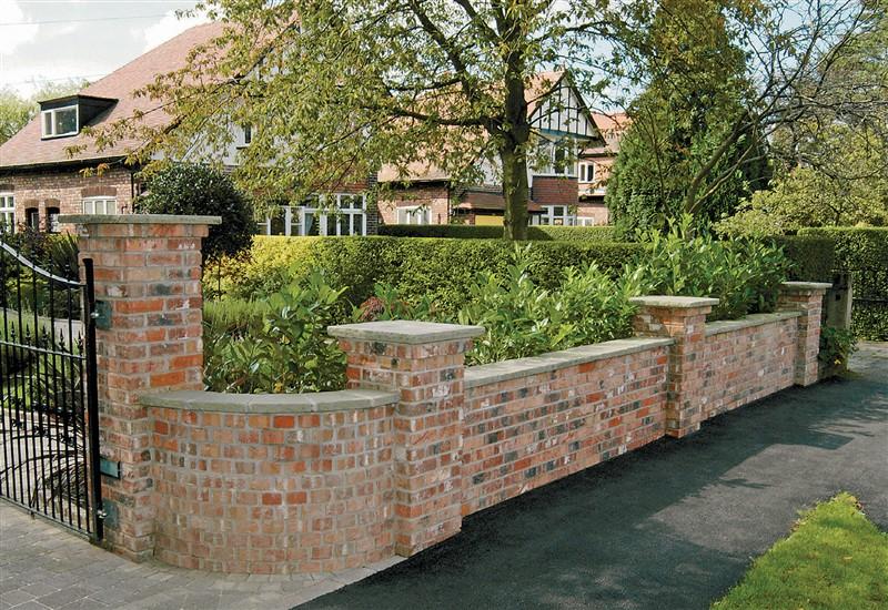 Garden Brick Wall