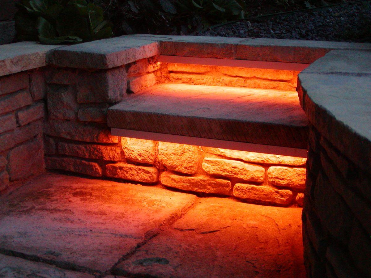 Garden Step Lighting