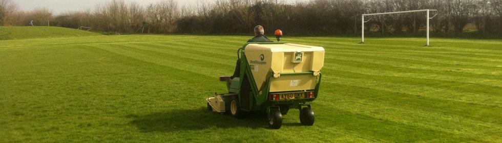 Sports Field Grass Cutting