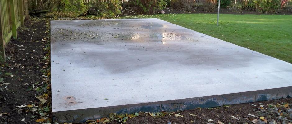Concrete Shed Base Installers Orpington, Bromley Beckenham