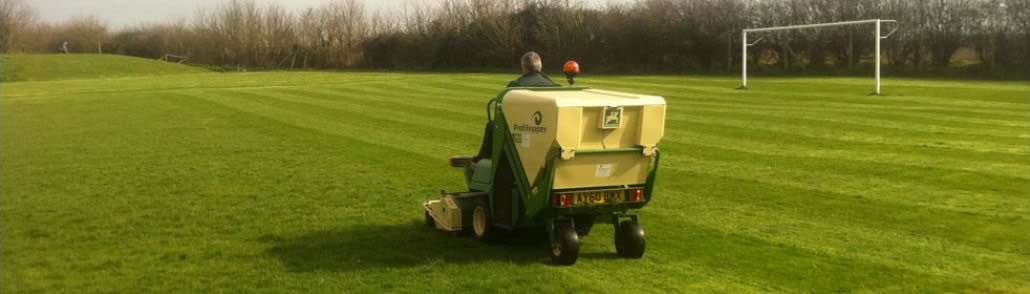 Sports Field Grass Cutting